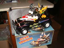 "SON AI ""STAR CRUISER""~ VINTAGE ROBOT DRIVEN SPACE CAR IN ORIGINAL BOX! WORKING!!"