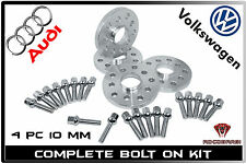 Complete Set Audi VW 5x100 5x112 ( 10MM Thick ) 57.1 Hub Centric Wheel Spacers