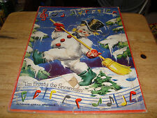 1951 I'm Frosty the Snowman tray puzzle whitman pub hill and range songs