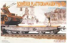 Dragon 1/35 6069 GERMAN RAILWAY SCHWERER PLATTFORMWAGEN TYP SSy