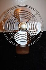 "Vintage Antique Manning Bowman Mcgraw Edison 8"" Desk Fan Model 08506 1 Speed"