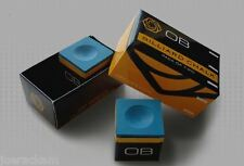 4 Pieces - OB Pool Chalk - OB Cue Premium Quality Billiard Chalk - BLUE