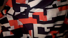 premium quality fabric jersey thick type neoprene big orange/black/white