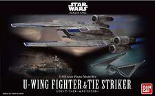 U-Wing & TIE Striker Modellbausatz 1/144 von Bandai, Star Wars: Rogue One