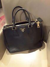 Original ❤ ❤ bolso Prada ❤ negro ❤ Galleria Soft Calf Nero ❤ id-card como nuevo