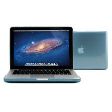 "Light Blue Crystal See Thru Case Cover for 13.3"" Macbook Pro With Keyboard Cover"
