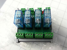 4-Channel 24VDC Relay Module made by Altech