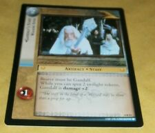 LOTR TCG TTT RARE CARD - 4R91 GANDALF'S STAFF - WALKING STICK