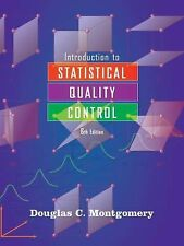 Introduction to Statistical Quality Control by Douglas C. Montgomery (2008, Hard