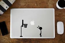 "Basketball Decal Sticker for Apple MacBook Air/Pro Laptop 11"" 12"" 13"" 15"""