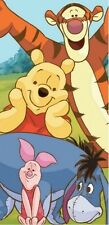Disney Winnie the Pooh and Piglet Fiber Reactive Cotton Beach Towel 30x60 Inches