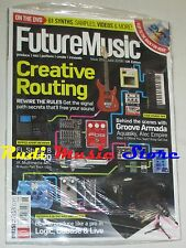 FUTURE MUSIC Magazine SEALED 201/ 2008 +dvd Creative Routing Groove Armada
