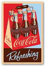 ADVERTISING POSTER Coca Cola Refreshing
