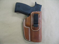 Remington RP9 9mm Pistol  IWB Leather In The Waistband Concealed Holster TAN RH