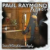 Paul Raymond - Terms & Conditions Apply CD2013 NEW SEALED Michael Schenker UFO