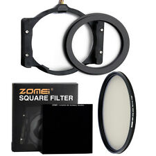 Zomei 100mm Square Neutral Density ND3.0 ND1000+Holder+77mm Adapter+CPL Filter
