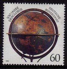 Germany 1992  500th Anniversary of  Worlds First Globe SG 2475 MNH