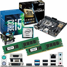 Intel Core i5 6500 3.2ghz & ASUS h110m-a & 16gb ddr4 2133 Bundle Crucial