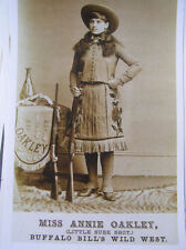 Miss Annie Oakley Wild Bills Wild West show