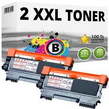 2 Toner für Brother DCP-7055w 7057 HL-2130 2132e 2135w FAX 2840 2845 2940 TN2010