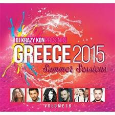 Greece 2015 summer sessions vol 16 by DJ Krazy Kon  cd new sealed