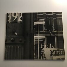 Holly Solomon Gallery 1975 The First Two Years Softcover Illustrated in B+W Rare