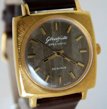 Superb GERMAN GUB GLASHÜTTE Spezimatic Caliber 74 Legendary WRIST WATCH 70s