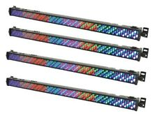 4 x QTX LED 1M Bar DLB100 RGB Uplighter Batten DJ Disco Light Effect Wall Washer