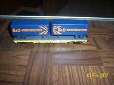 Tofcee Service Containers  on Trailer Train Car ho