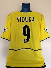 Leeds United VIDUKA 2002/03 Away Football Shirt (XL) Soccer Jersey