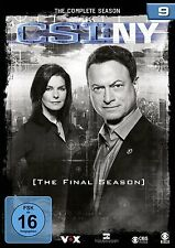 6 DVDs * CSI : NY - NEW YORK - FINALE STAFFEL / SEASON 9  # NEU OVP §