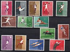 1960 - FRANCOBOLLI SAN MARINO NUOVI GIOCHI OLIMPICI DI ROMA CON POSTA AEREA