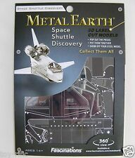 Terra in metallo-Space Shuttle Discovery - 3D METAL MODEL KIT-NUOVISSIMO E SIGILLATO!