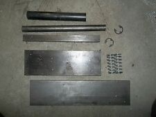 DIY or homemade press brake raw materials kit