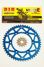 D.I.D. Gold Motocross Chain BLUE Sprocket Combo Kit 50/13T YZ250F 2001 - 2015