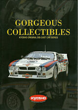 CATALOGUE MINIATURE KYOSHO - GORGEOUS COLLECTIBLES - 2001