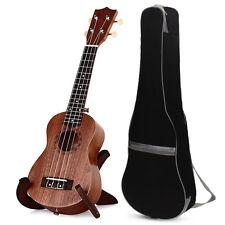 """TOKKY 21"""" Soprano Ukulele Uke Four Strings 15 Frets Hawaii Instrument + Gig Bag"""
