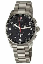Victorinox Swiss Army Men's Chronograph Swiss Quartz Titanium Watch 241261