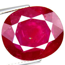 18.82Ct Oval, Huge Size! World Top class Pigeon Blood Red Color Natural Ruby Gem
