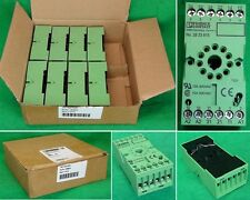 8 Phoenix Contact Relay Sockets 2833615 Plugable Terminal Block Module