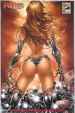 WITCHBLADE # 137 a 137a Jay Company colored Brunette Variant Lmtd to 250 Copies