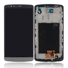 Replacement Touch Display LCD Digitizer Screen with Frame for LG G3 D855 Gray