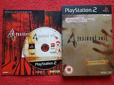 RESIDENT EVIL 4 LIMITED EDITION METAL TIN /STEEL BOOK ORIGINAL SONY  PS2 PAL