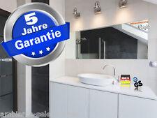 Infrarot Spiegelheizung Rahmenlos 500 Watt 130x40 - 5 Jahre infranomic Garantie