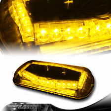 32 LED Magnetic Roof Top Emergency Hazard Flash Warning Amber Strobe Light E