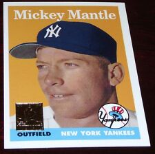 1996 Topps Mickey Mantle Reprint 1958 Topps #150