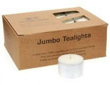 Heaven Scent Natural Organic Jumbo Tea Light Candles - 24 (Long Life 7 Hours)