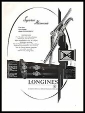 Publicité Montre LONGINES Watch photo vintage ad  1957 -9i
