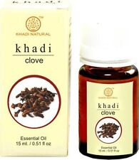 Khadi Herbal Clove 100% Natural Pure Undiluted Essential Oil Aromatherapy 15ML