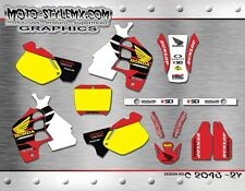 Honda CR 500 1991 up to 2001 Moto StyleMX graphics decals kit stickers